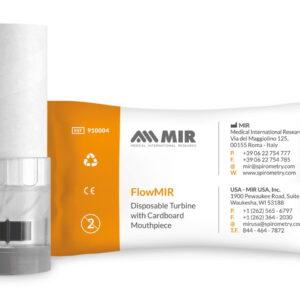 Ống thổi máy đo chức năng hô hấp FlowMIR Turbine (MITR - Italy)