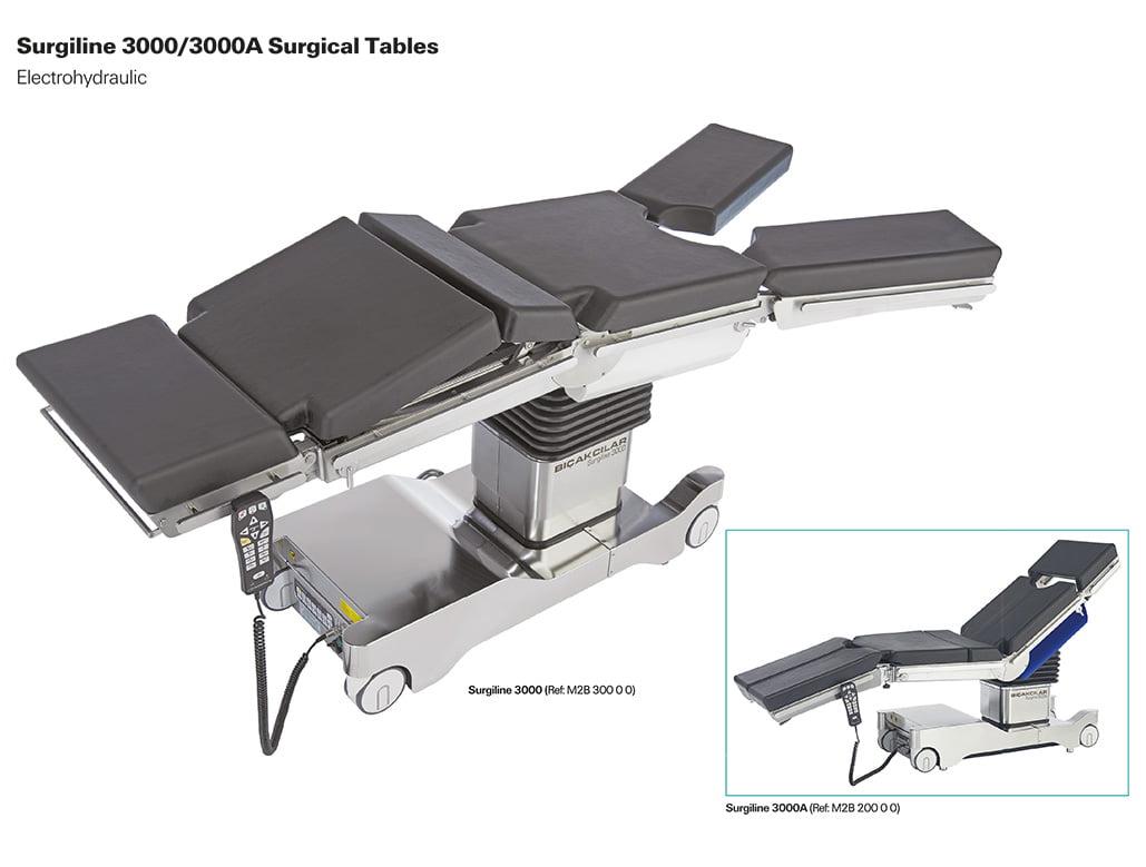 Bàn mổ đa năng Surgiline 3000/3000A