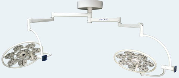 Đèn mổ LED 2 nhánh treo trần 500/500 (Emaled - Đức)