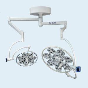 Đèn mổ treo trần LED 560/300 - 2 nhánh (Emaled - Đức)