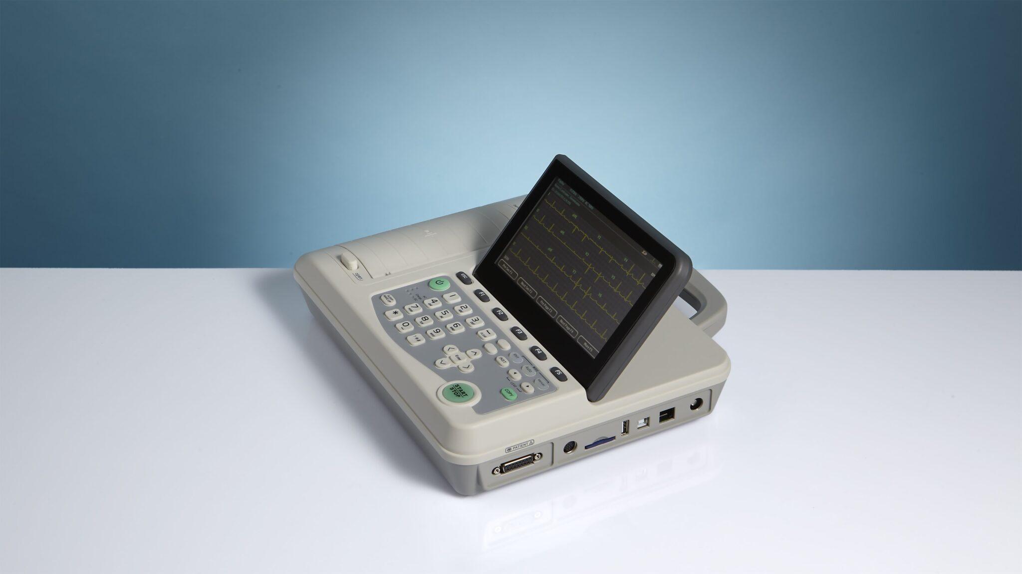 Máy đo điện tim 6 cần EUROECG 6-view (Lumed - Italy)