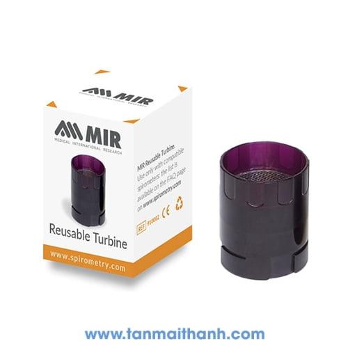 Turbine máy đo chức năng hô hấp dùng nhiều lần (MIR - Ý) 1