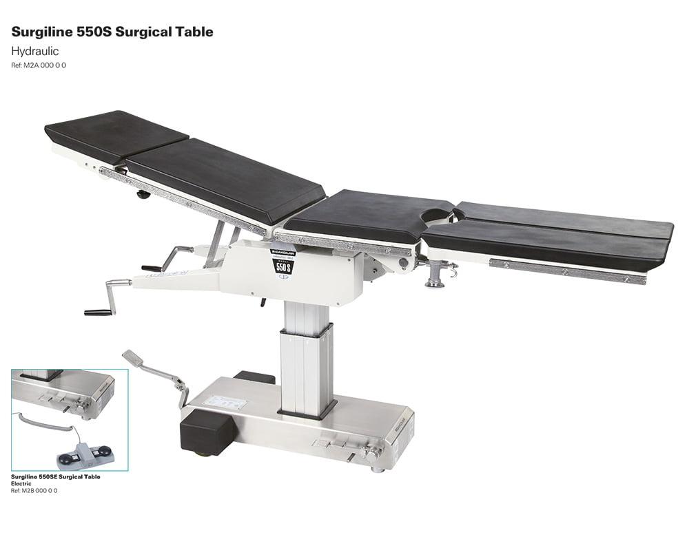 Bàn mổ tổng hợp Surgiline 500S