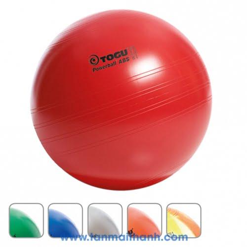 Bóng tập yoga trơn cao cấp Powerball ABS (Togu - Đức) 5