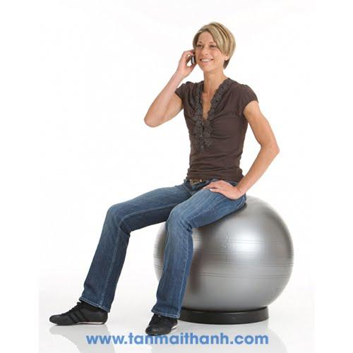 Bóng tập yoga trơn cao cấp Powerball ABS (Togu - Đức) 8