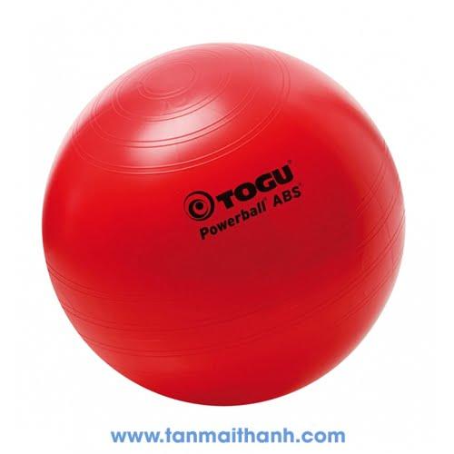 Bóng tập yoga trơn cao cấp Powerball ABS (Togu - Đức) 1