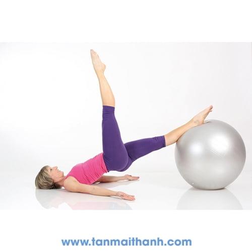 Bóng tập yoga trơn cao cấp Powerball ABS (Togu - Đức) 11