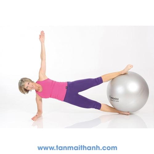Bóng tập yoga trơn cao cấp Powerball ABS (Togu - Đức) 10
