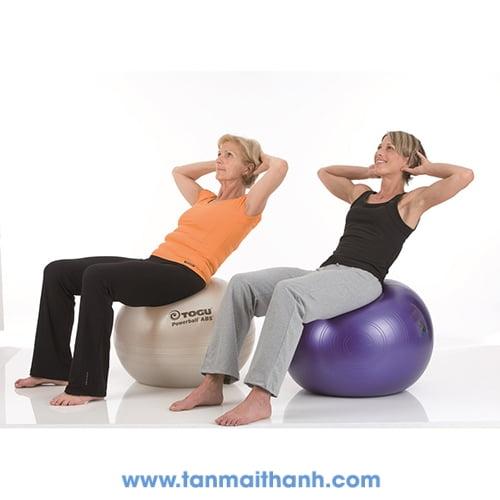 Bóng tập yoga trơn cao cấp Powerball ABS (Togu - Đức) 6