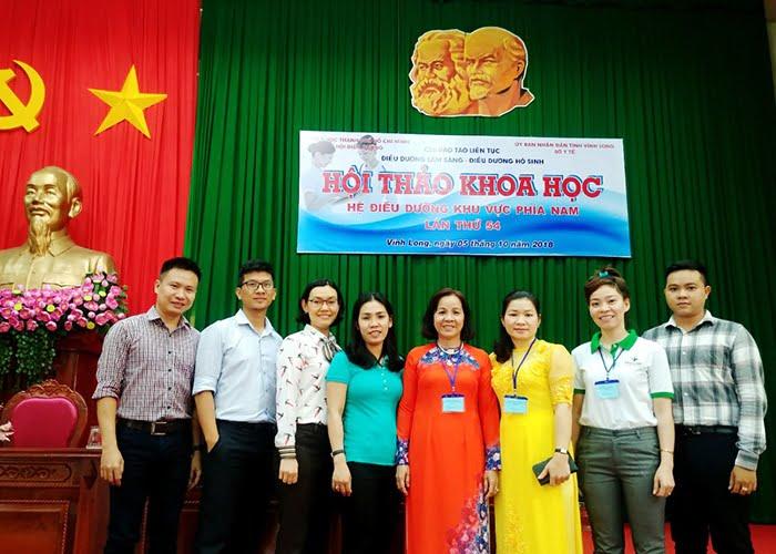 cong ty tan mai thanh tham du hoi thao khoa hoc he dieu duong khu vuc phia nam lan thu 54 1