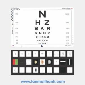 Bảng kiểm tra thị lực điện tử CyberChart M10 (AKAS - Ấn Độ)