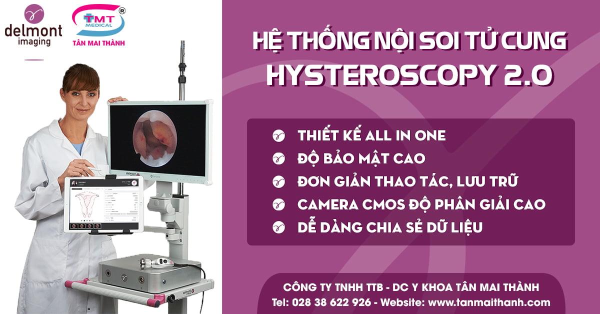 Hệ thống nội soi phẫu thuật buồng tử cung Hysteroscopy 2.0 (Delmont - Pháp) 6