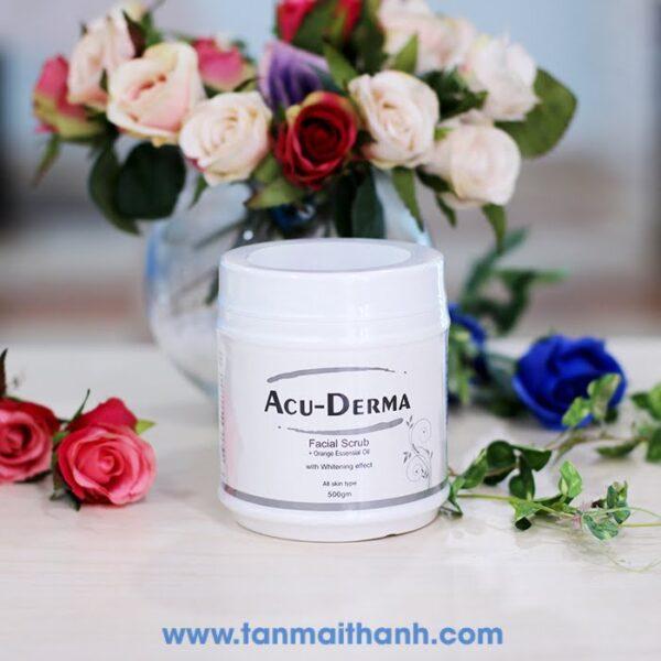 kem massage trang da acu derma phap 600x600 - Kem massage trắng da (Acu Derma - Pháp)