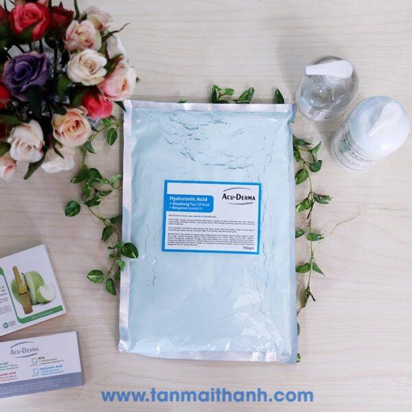 mat na bot dac tri duong da hyaluronic acid soothing acu derma phap 600x600 - Mặt nạ bột đặc trị dưỡng da Hyaluronic Acid+ Soothing (Acu Derma - Pháp)