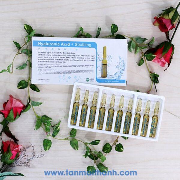 serum dac tri hyaluronic acid soothing acu derma phap 600x600 - Serum đặc trị Hyaluronic Acid+ Soothing (Acu Derma - Pháp)