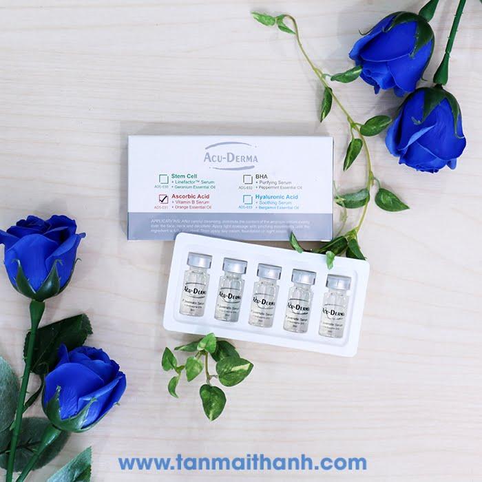 serum dac tri acu derma phap - Chia sẻ kinh nghiệm chọn mỹ phẩm tốt cho các spa - Điều mà các chủ spa cần biết !