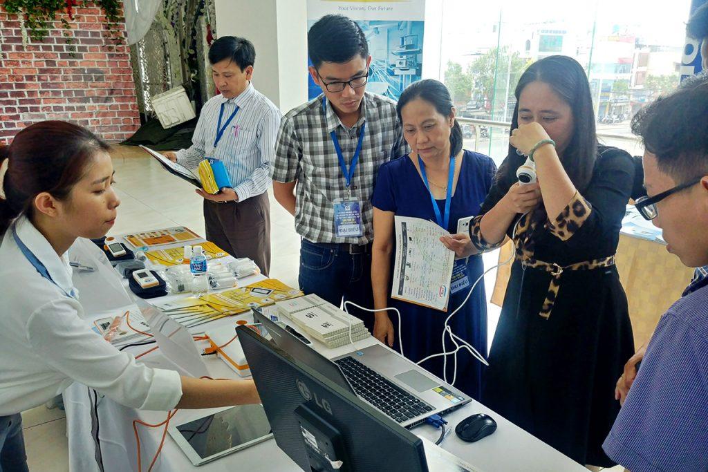 cong ty tan mai thanh trien lam san pham tai hoi nghi thuong nien hoi ho hap tp ho chi minh 3 1024x683 - Công ty Tân Mai Thành triển lãm sản phẩm tại Hội nghị thường niên Hội hô hấp TP. Hồ Chí Minh lần thứ 13