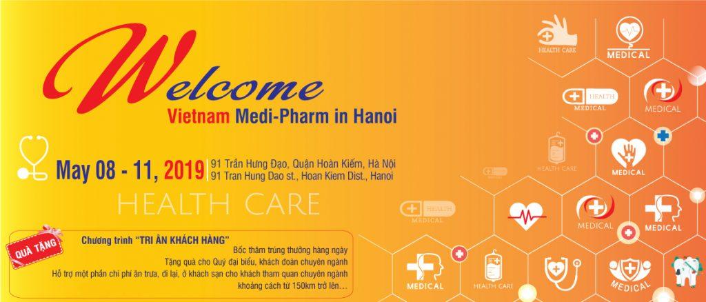 Triển Lãm Quốc Tế Chuyên Ngành Y Dược Việt Nam Lần Thứ 26 - VIETNAM MEDI-PHARM 2019