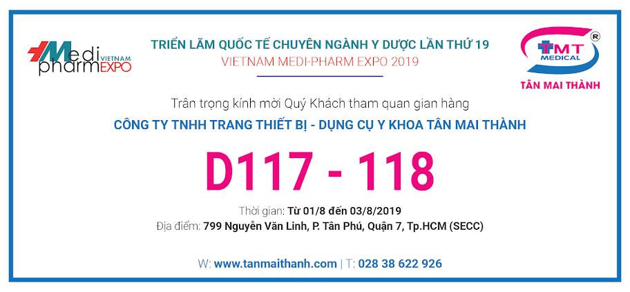 [Sự kiện] Vietnam Medi-Pharm Expo 2019 1
