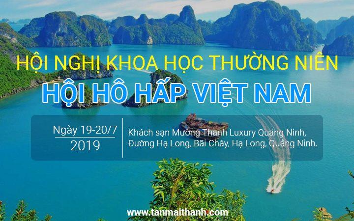 Hội nghị khoa học thường niên 2019 - Hội hô hấp Việt Nam 18