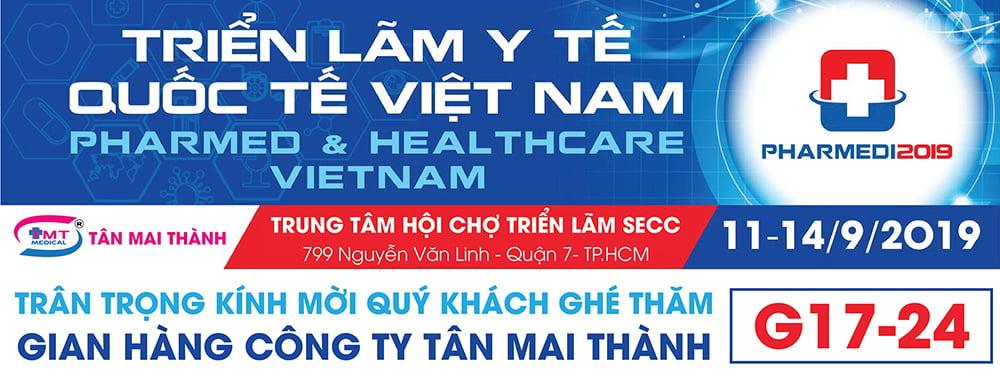 Triển lãm y tế Quốc tế Việt Nam lần thứ 14 - năm 2019