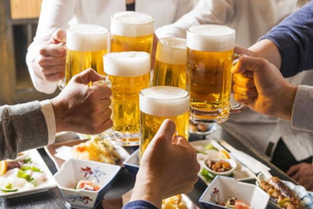 Uống bia, rượu: Gây ung thư ruột