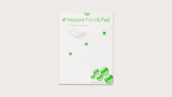 Băng phim trong suốt có gạc vô trùng Mepore Film&Pad (Molnlycke - Thụy Điển)