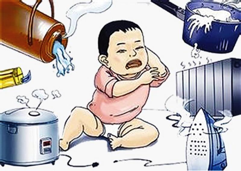 Bỏng trẻ em - Nguyên nhân và cách xử lý 1