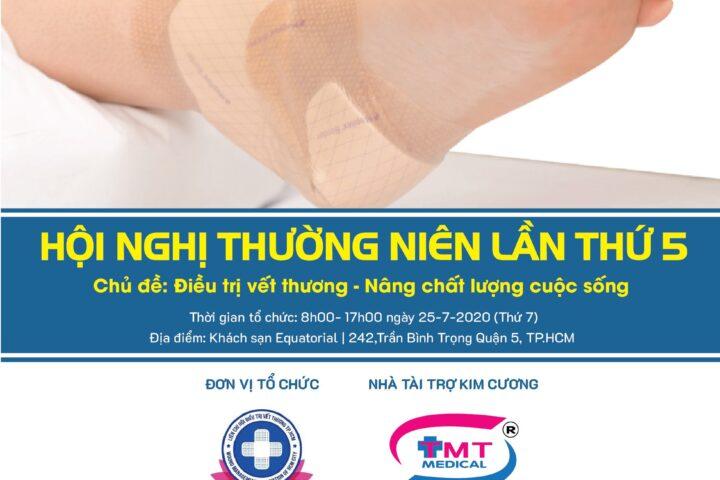 Công ty Tân Mai Thành tài trợ kim cương tại hội nghị thường niên lần 5 - LCH điều trị vết thương TPHCM